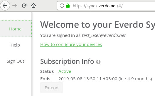 Sync Subscription Status